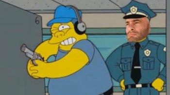 El Ministro de Seguridad de la provincia se convirtió en meme.