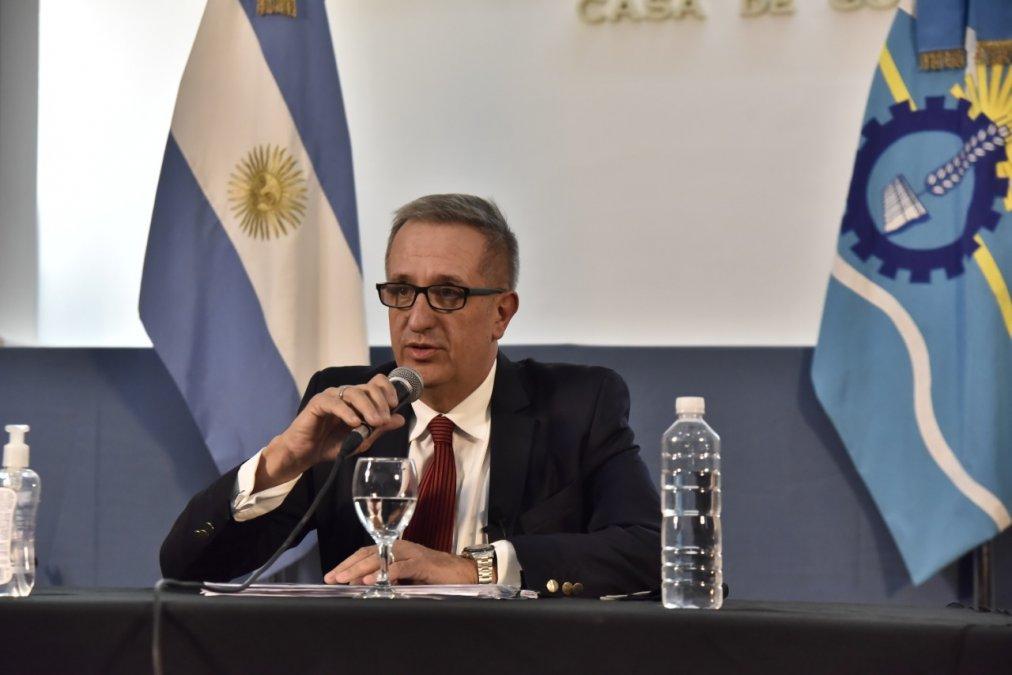 El Ministro de Economía del Chubut