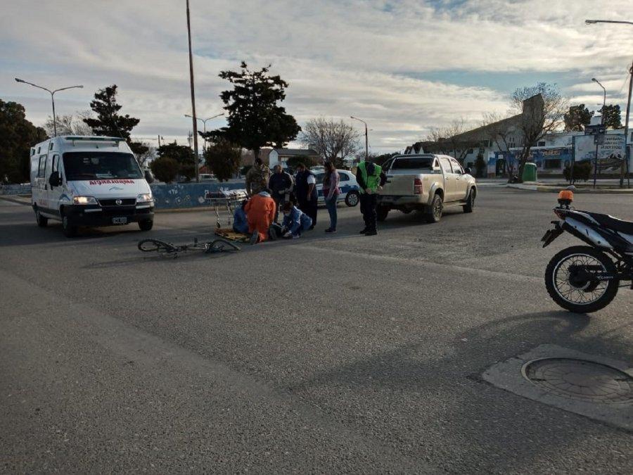 El accidente ocurrió entreCanadá y Francisco Behr.