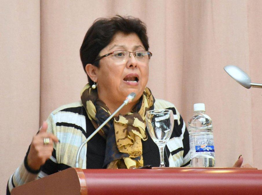 Viviana Navarro dará una conferencia de prensa este mediodía en el Concejo