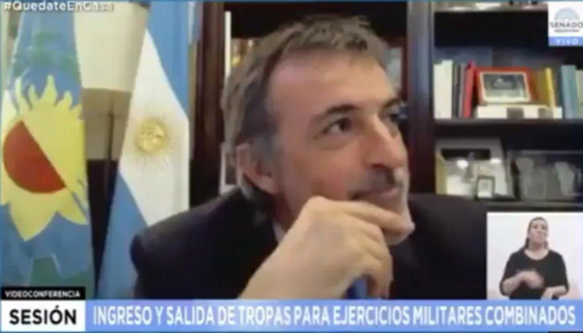 Cristina Kirchner chicaneó este jueves al senador Esteban Bullrich