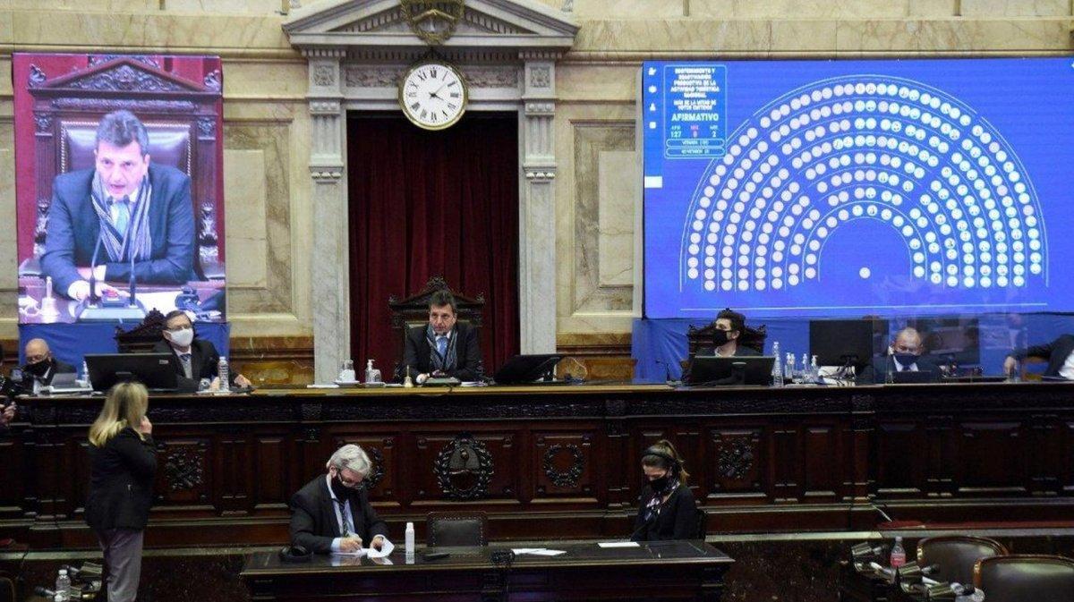 Diputados votó la ley de salvataje para el turismo