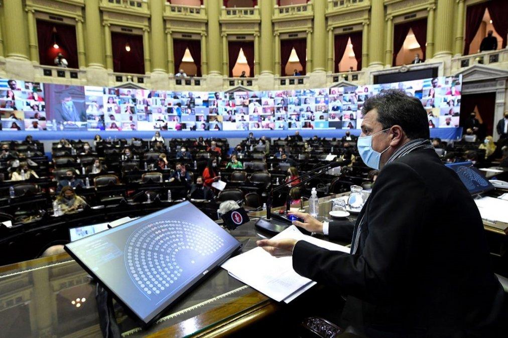 Diputados buscarán darle media sanción al Presupuesto 2021