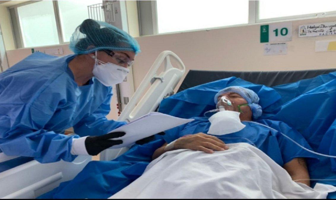 Implacable el COVID19 en Argentina. Este martes se confirmaron 12.027 nuevos contagios y 278 muertes.