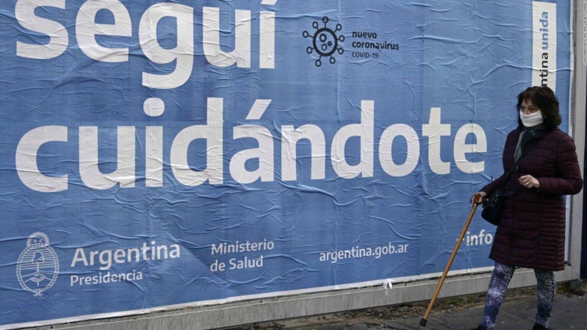 Argentina registra 87 nuevas muertes por coronavirus
