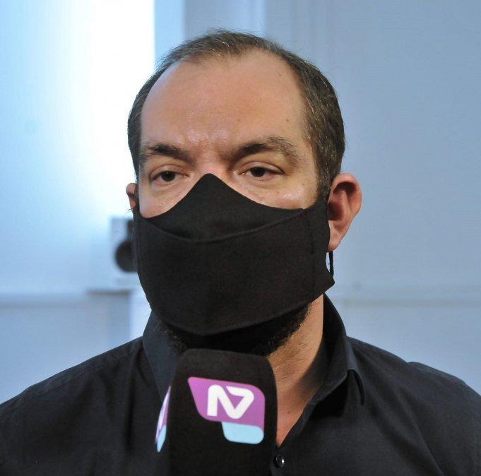 José María Grazzini. ministro de Gobierno y Justicia del