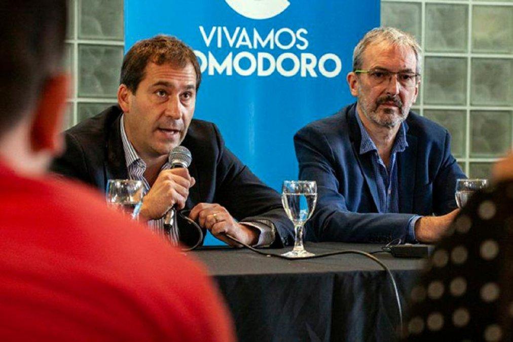 El Intendente Juan Pablo Luque brindó su apoyo a Fabián Puratich.