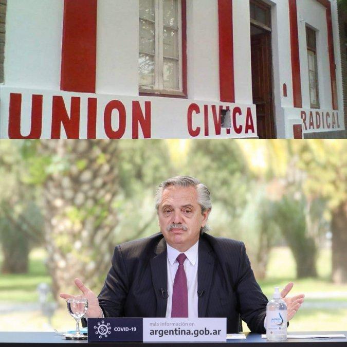 Somos pocos y estamos lejos, la carta de la UCR a Alberto Fernández