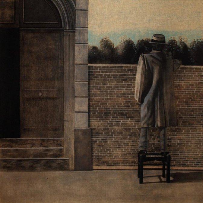 La distancia de la mirada - Antonio Seguí 1976.