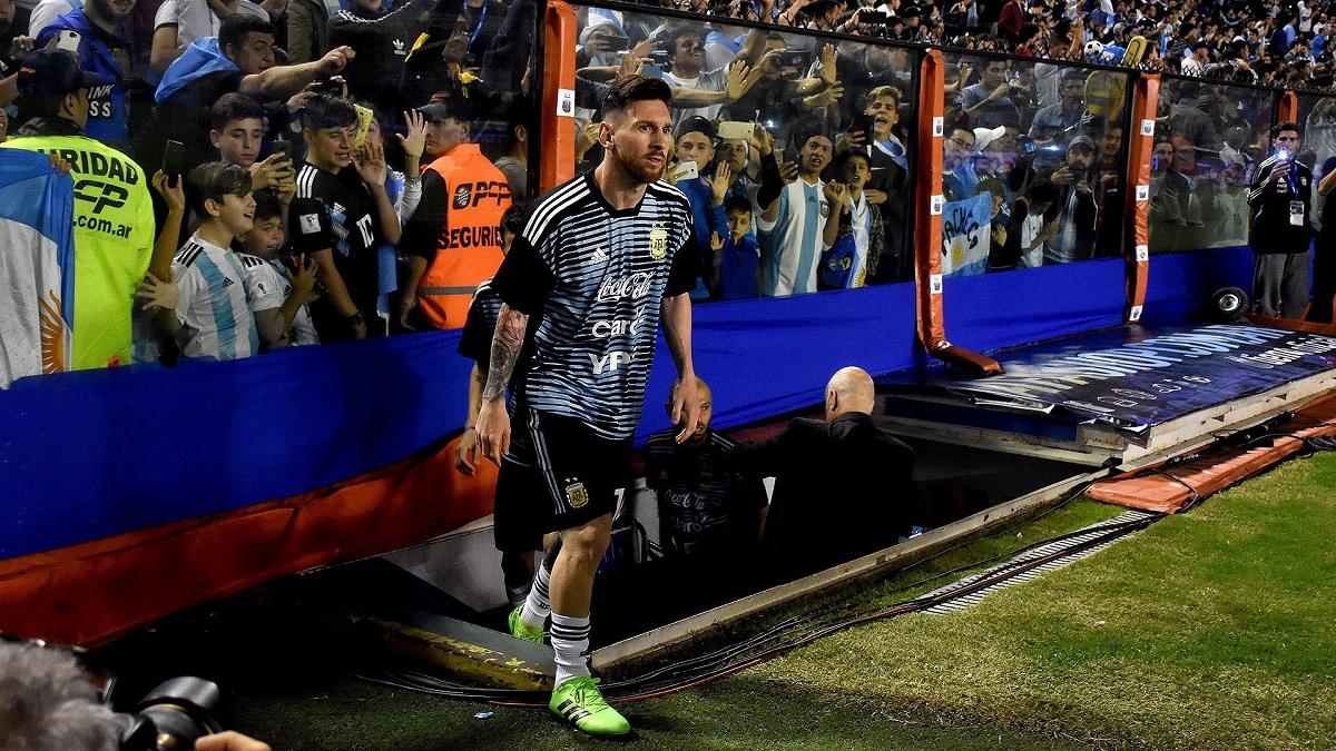 Messi estará disponible para la doble jornada.