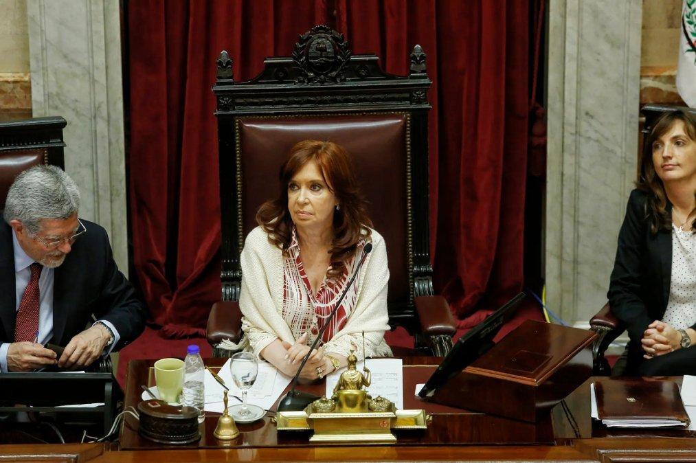 Cristina Kirchner apuntó contra la oposición.