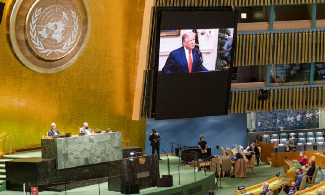 Estados Unidos y China llevan su rivalidad a la 75º Asamblea General de las Naciones Unidas.