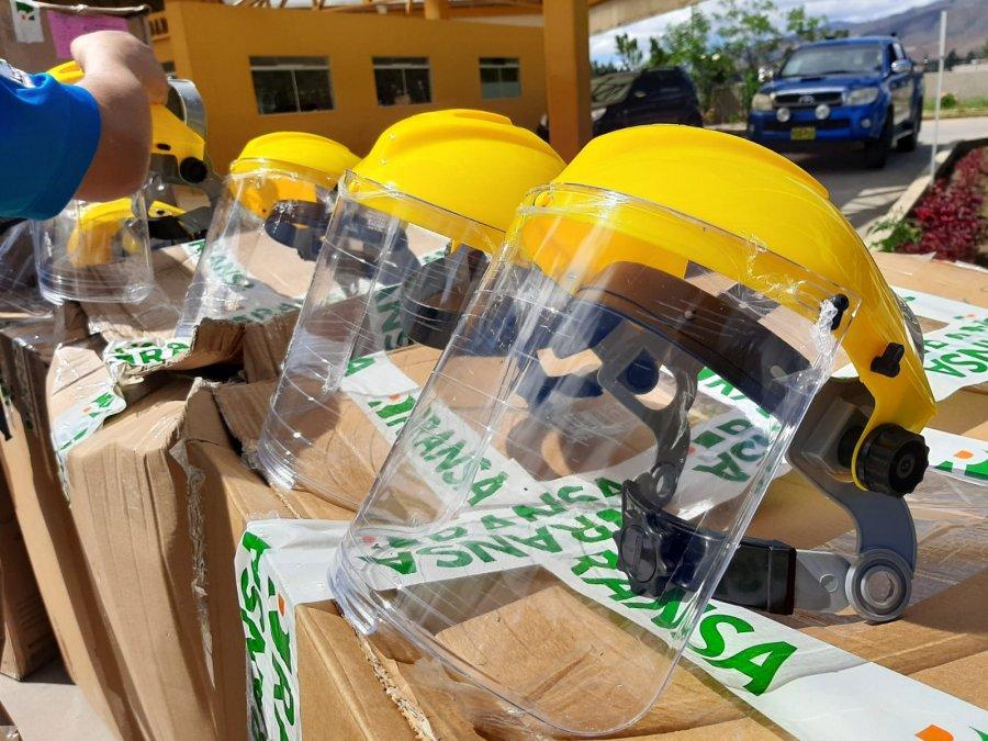 En el laboratorio del Hospital Alvear requieren la donación de máscaras faciales porque las que tenían se han deteriorado.
