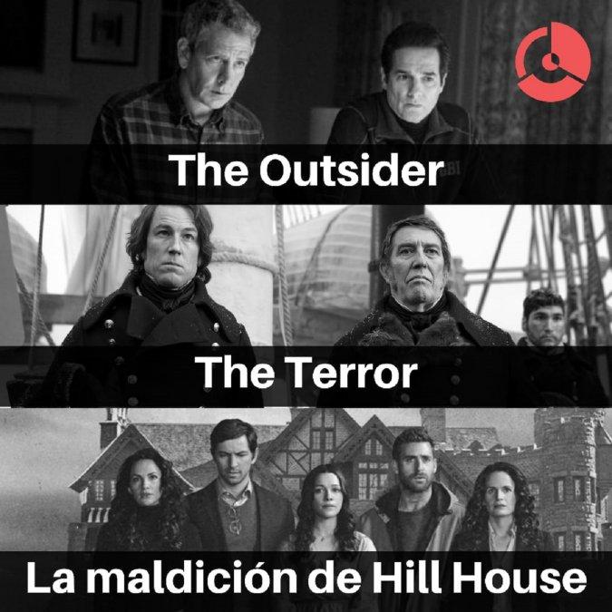 Tres series de terror para no dormir: The Outsider, The Terror y La maldición de Hill House