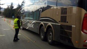 6 personas continuaron viaje a Comodoro.