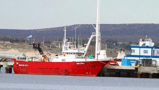 En la Rada Golfo Nuevo de Puerto Madryn se encuentran fondeadas 13 embarcaciones con tripulantes que presentan síntomas de coronavirus.