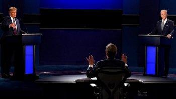Trump y Biden se midieron en el primero de tres debates presidenciales