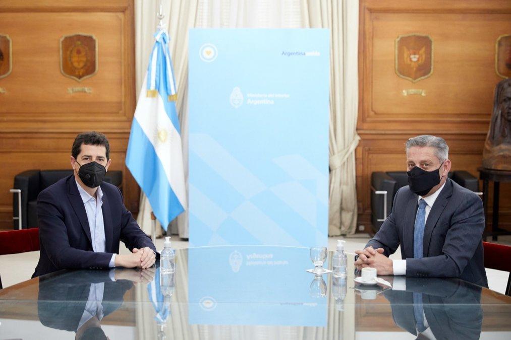 El acuerdo firmado por el gobernador Arcioni se finiquitó en una reunión mantenida con el Ministro del Interior