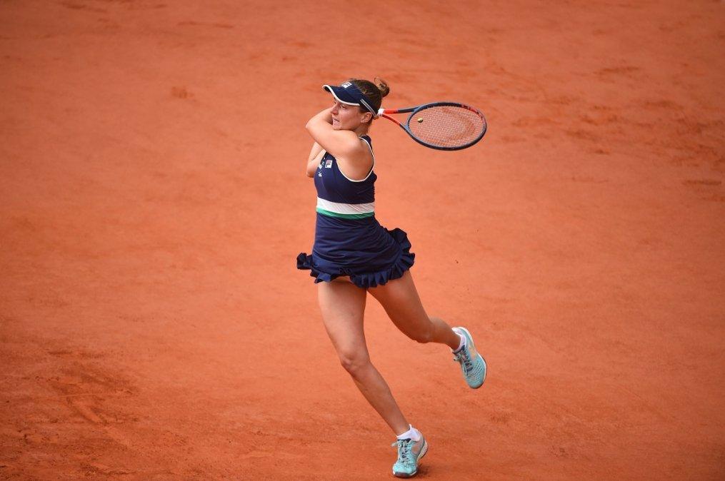 Nadia Podoroska perdió con Iga Swiatek y quedó eliminada de Roland Garros