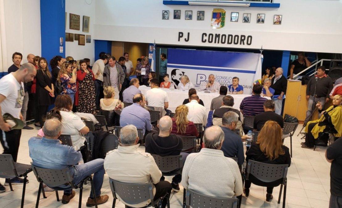 Asamblea del Partido Justicialista.