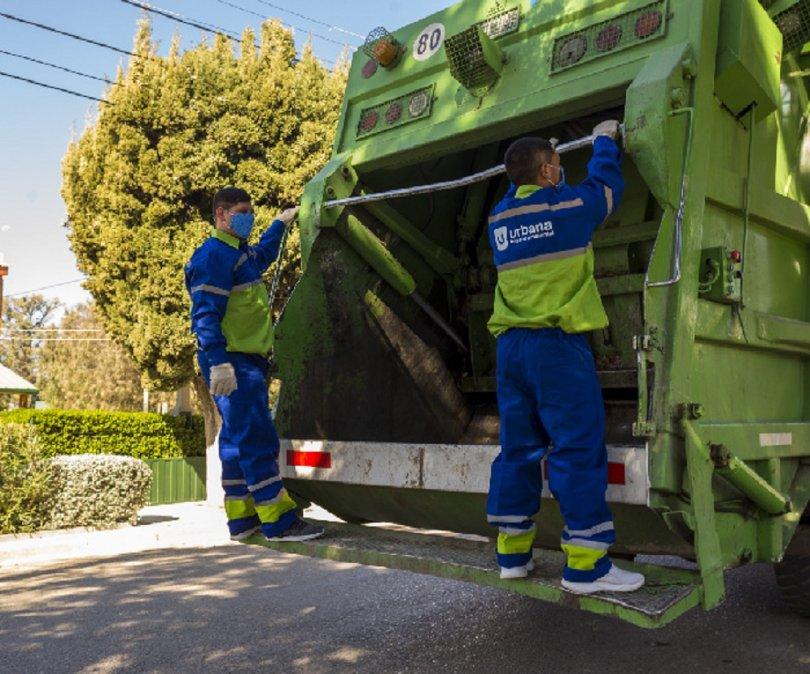 En Comodoro Rivadavia el servicio de recolección de residuos para el feriado funcionará con guardias.