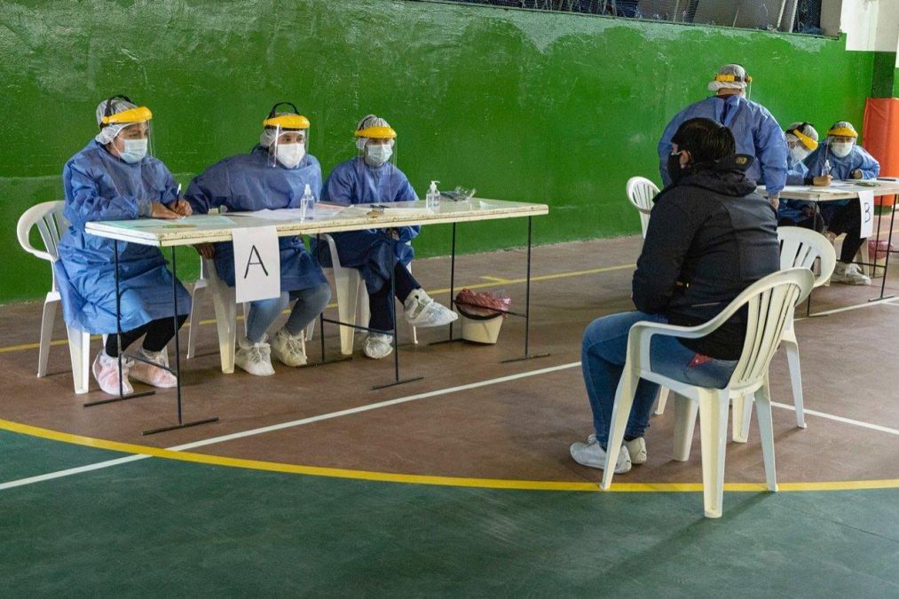 Con el Plan Detectar se registraron alrededor de 700 casos positivos de coronavirus en Comodoro. Foto: Municipalidad de Comodoro Rivadavia.