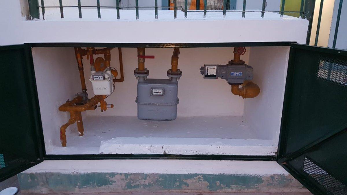 Todos los equipos de calefacción central por aire con los que cuenta el establecimiento fueron reparados y puestos en marcha.