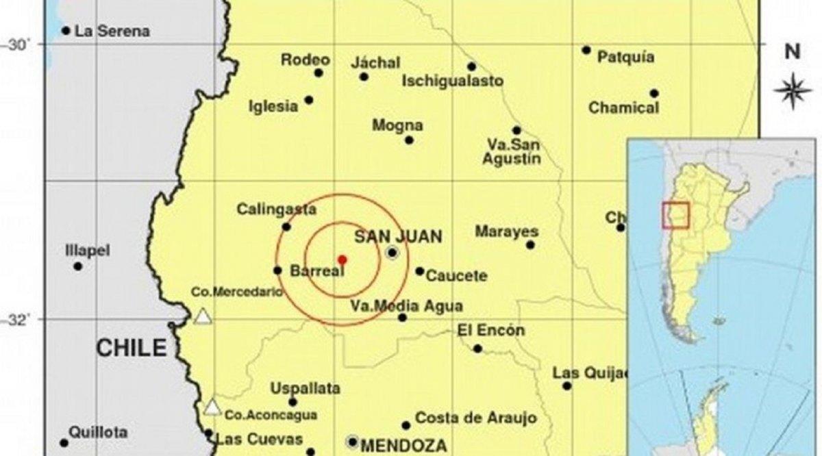 En San Juan se registraron 12 sismos en un día.