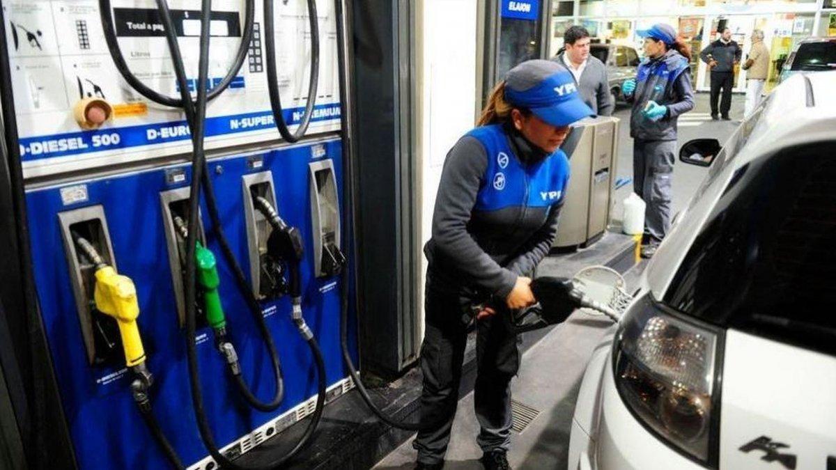 YPF aumentó el precio de sus combustibles un 3,5% en promedio