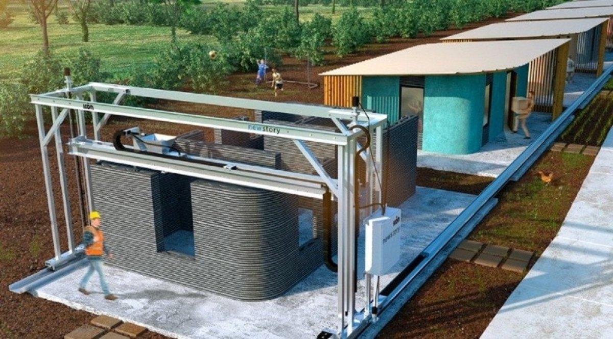 Desarrollarán una mega impresora 3D para construir viviendas sociales