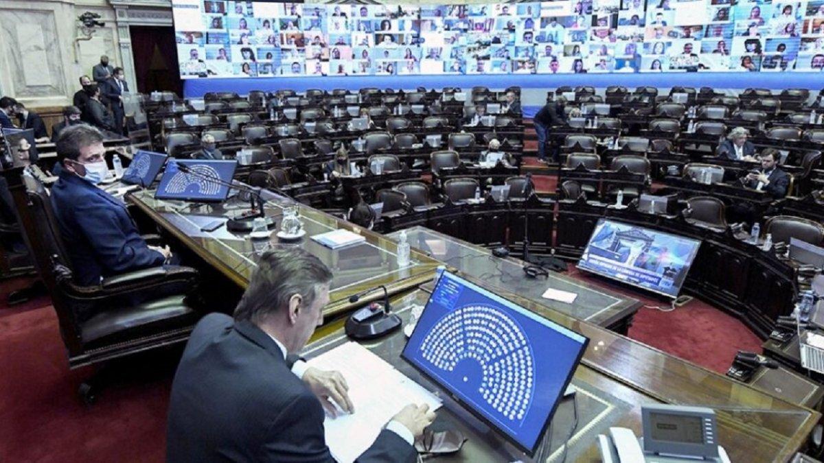 Diputados aprobó el proyecto de Ley de Aporte Solidario y Extraoridinario