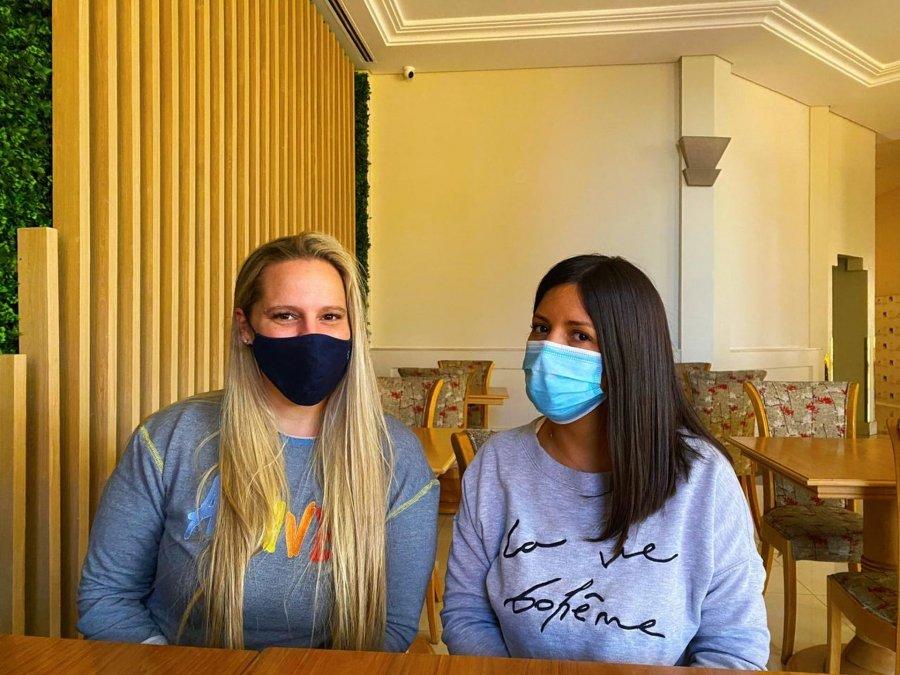 El conmovedor relato de dos profesionales de salud que llegaron a Comodoro