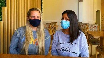 El conmovedor relato de dos profesionales de salud