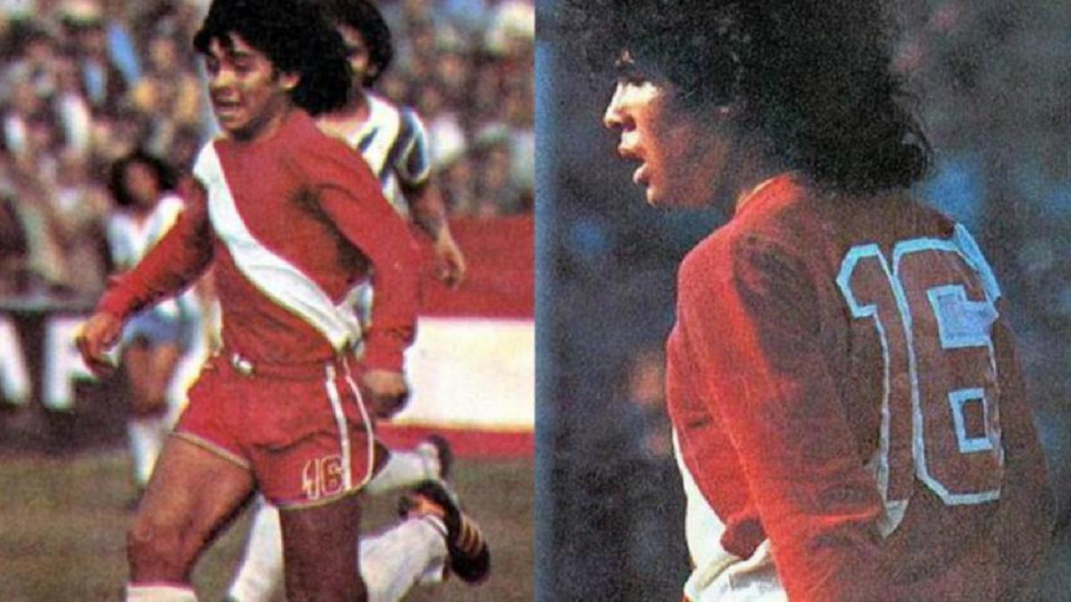 Hace 44 años Diego Maraona debutaba en Argentino Juniors.