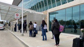 Este lunes arribo el primer vuelo a Comodoro Rivadavia.