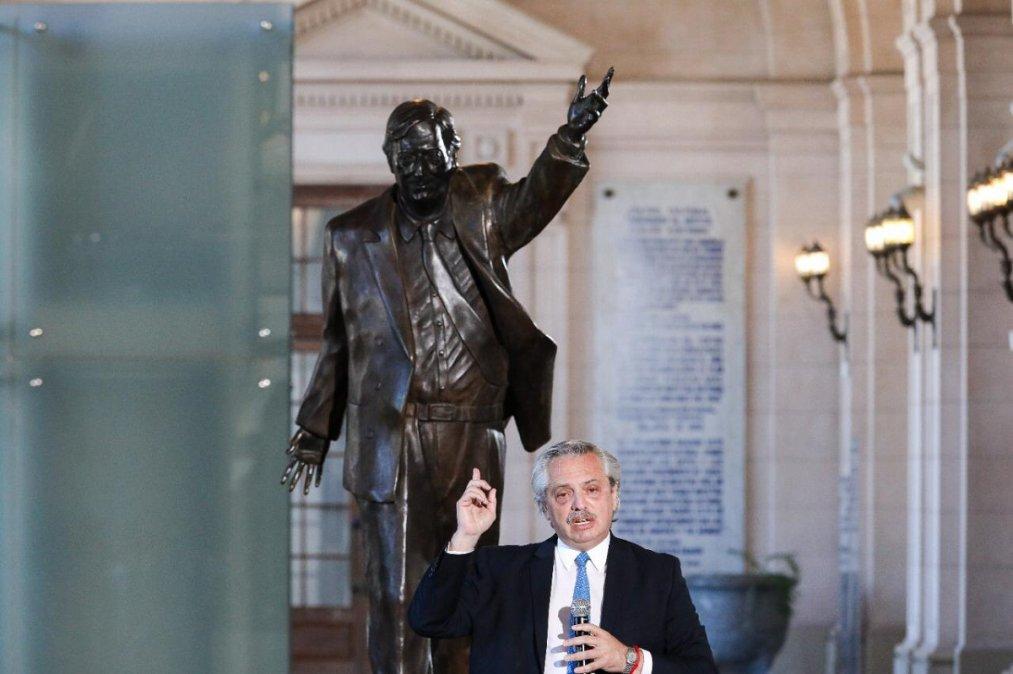 Alberto Fernández recordó al ex presidente Néstor Kirchner a 10 años de su fallecimiento.
