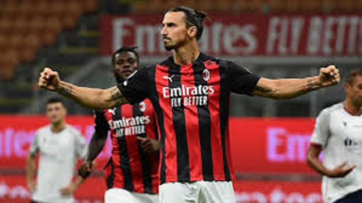 Zlatan Ibrahimovic jugará con el Milan.