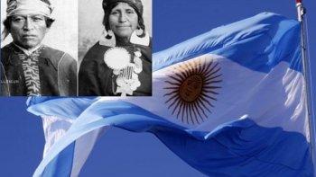 Se conmemora el día que Tehuelches y Mapuches juraron lealtad a la Bandera