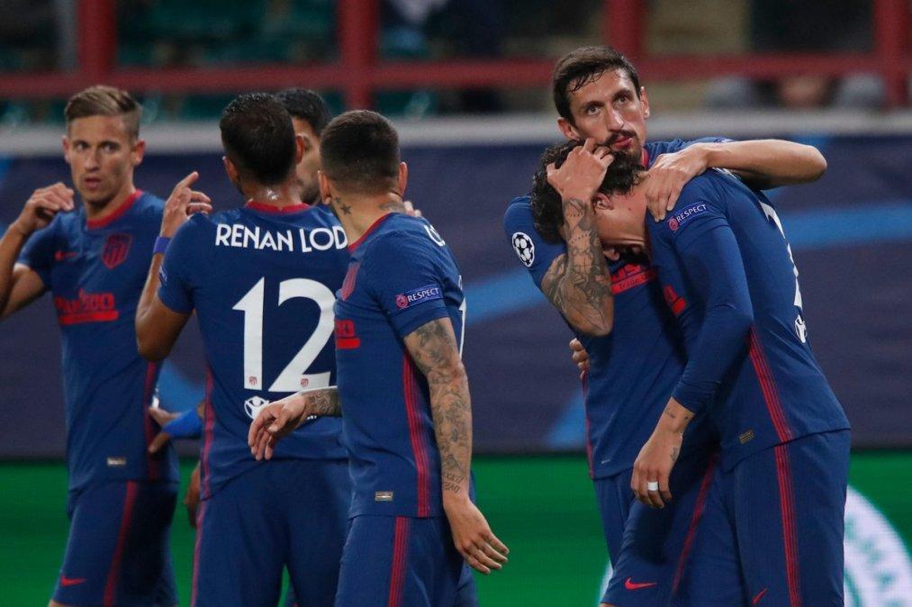 Atlético de Madrid empató con el Lokomotiv por la Champions League