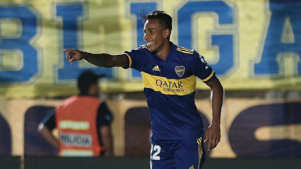 Boca viajó a Rosario con Sebastián Villa en el plantel