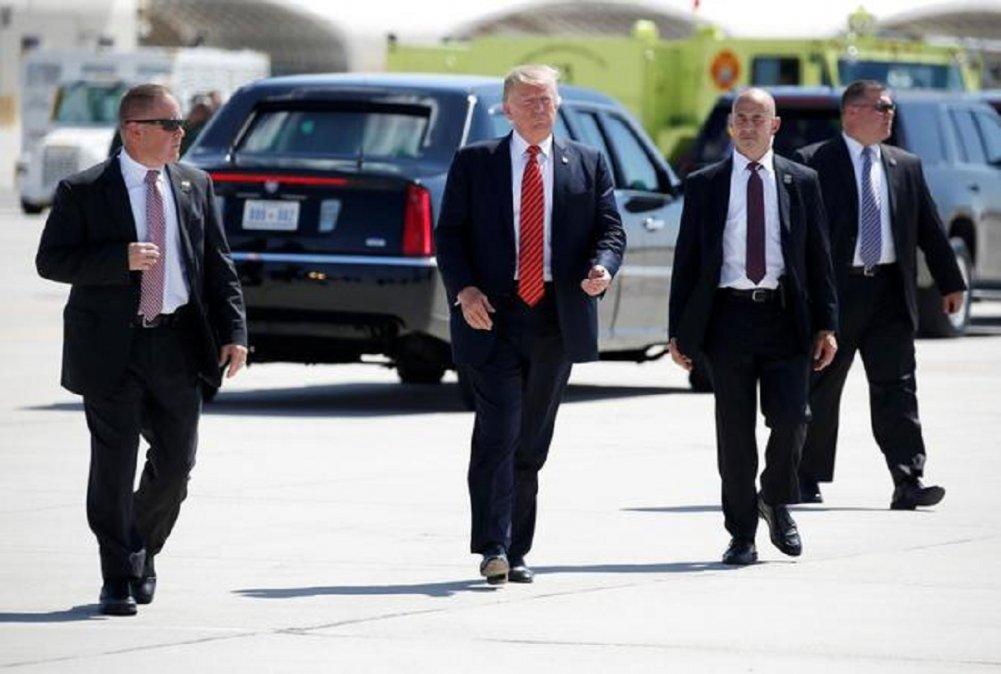 La cobertura de las actividades del presidente Donald Trump en la campaña ha impactado en el Servicio Secreto