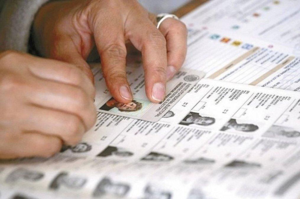 De cara a las legislativas, ya están disponibles los padrones provisorios