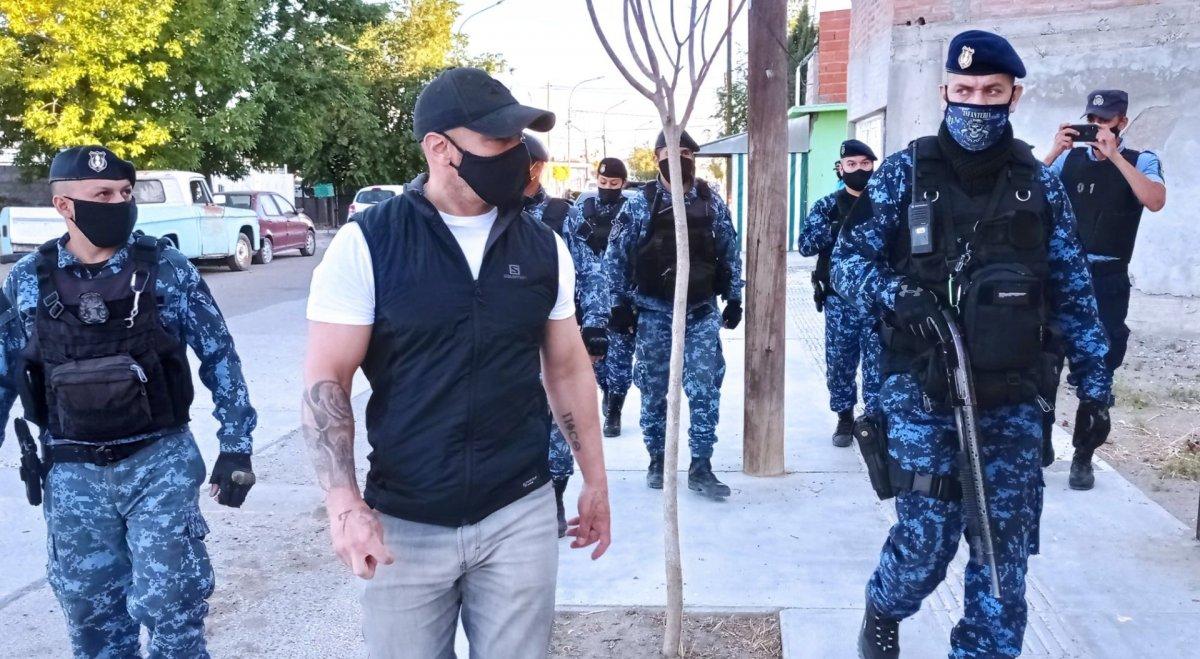 Detenidos por tenencia de marihuana y robos menores: los resultados del cinematográfico operativo de Massoni