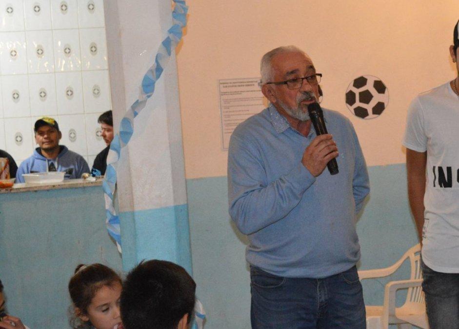 René Tula fue presidente de Caleta Córdova. Foto: Sebastián Navarro.