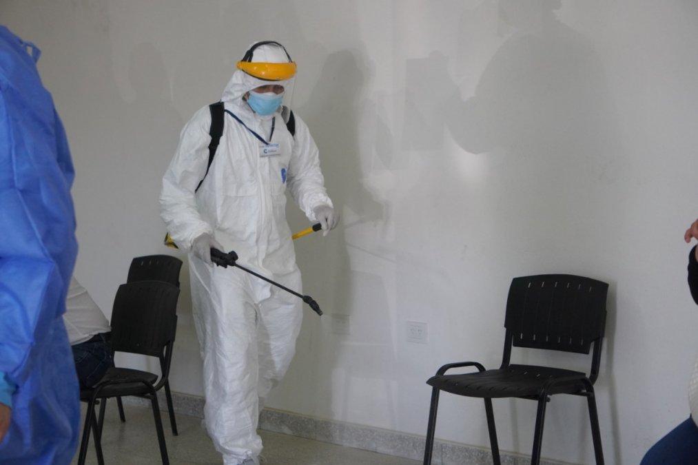 Este lunes se registraron en Comodoro y Rada Tilly 150 casos positivos de Coronavirus y 4 muertes.