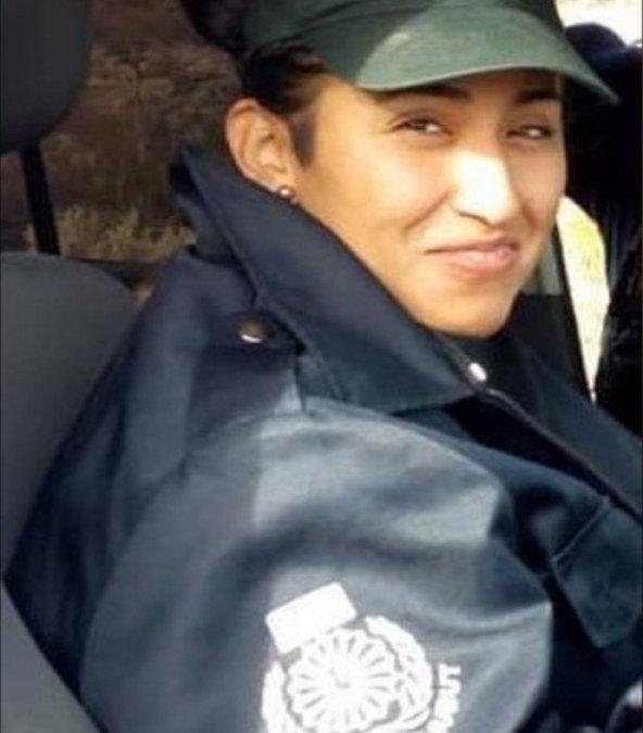 Sargento de Policía Daiana Teresa