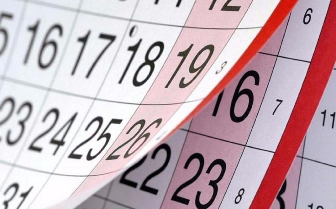 ¿Cuánto falta para el próximo feriado?