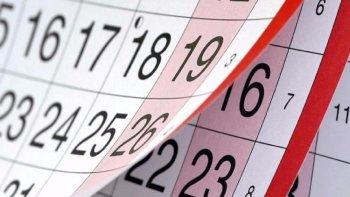 ¿Cuándo es el próximo feriado?