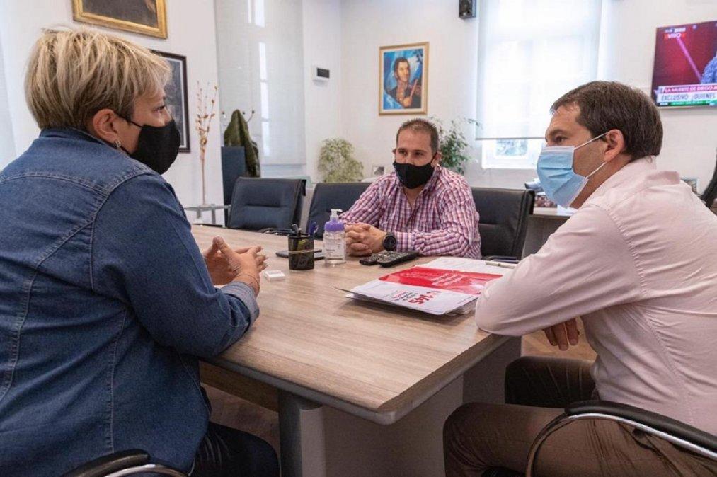 Luque recibió a la Coordinadora Contra la Trata de Personas