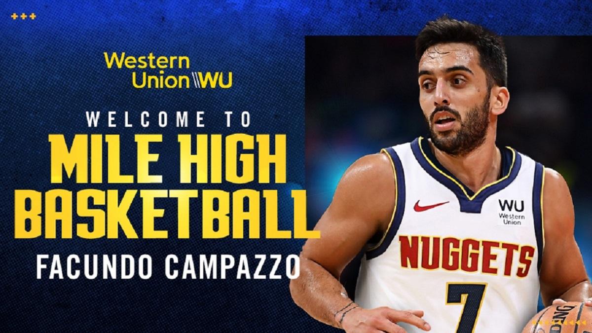 NBA: Denver Nuggets anunció la llegada de Facundo Campazzo